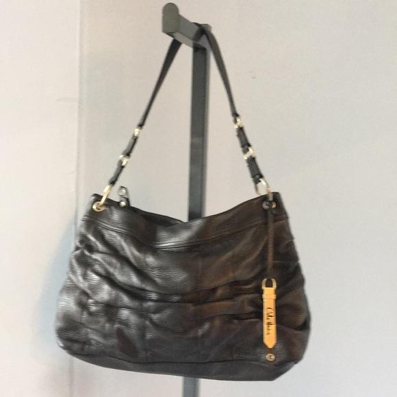Cole Haan Handbags - Cole Haan Copper Leather Bag  Shoulder Bag